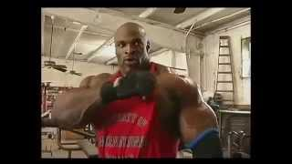 Ronnie Coleman chest traning
