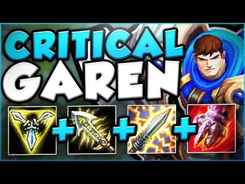NO ONE EXPECTS THIS KIND OF BURST FROM A GAREN! CRITICAL GAREN TOP GAMEPLAY! - League of Legends