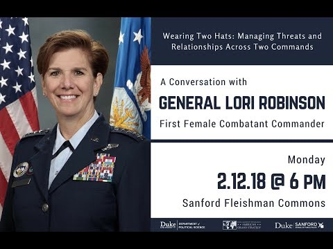 A Conversation with General Lori Robinson - YouTube