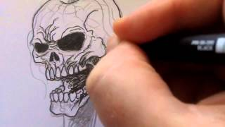 How To Draw A Skeleton Key