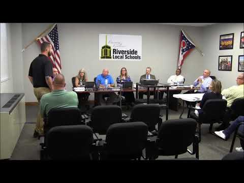 August 22, 2017 Board of Education Meeting