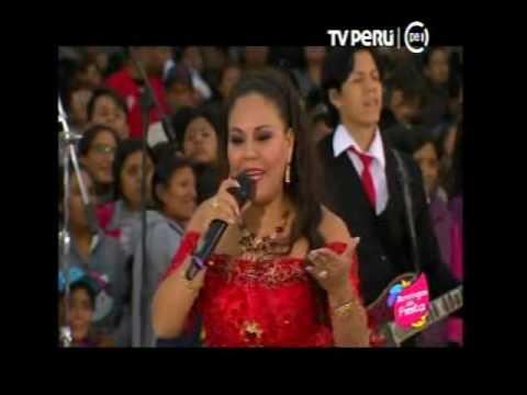 """DINA PAUCAR, en VIVO desde EL AGUSTINO, """"Domingos de Fiesta"""" TV Perú HD / COMPLETO (JULIO 2017)"""