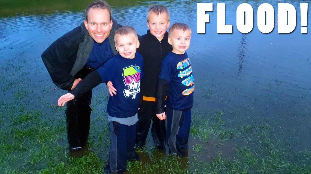 The Basin Flooded!