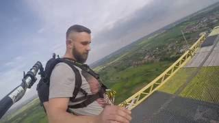 Dream Jump 222m - Dream Tower Głogów 21.05.2016 - Bartek