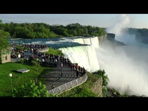 At Observation Tower Prospect Point - Niagara Falls NY