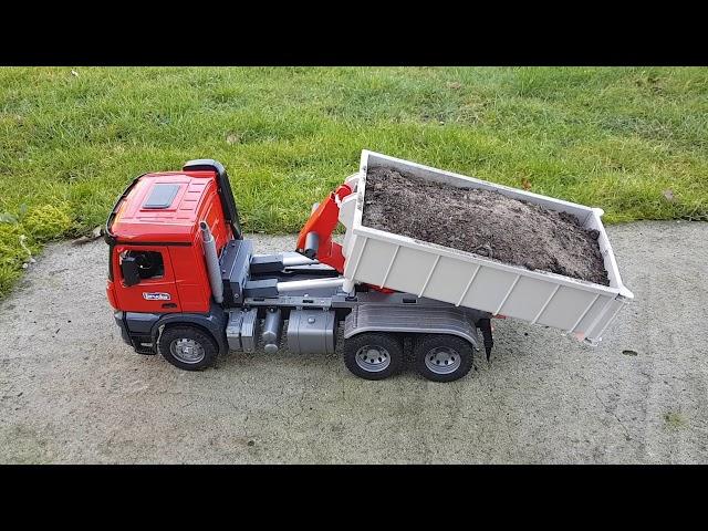 650€ Bruder RC Umbau Lkw mit Abrollcontainer arocs