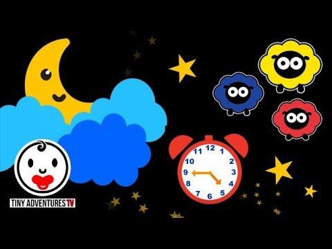Baby Sensory - High Contrast Animation - Sleepy Time Twinkle Twinkle Little Star - Put Baby To Sleep