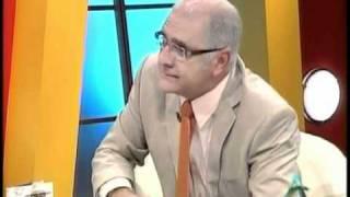 Pedrito Calvo conversa con Carlos Otero