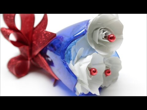 Plastic Bottle Christmas Crafts Decor Decorations Ideas Cute Diy Jingle Bell Best Out Of Waste Youtube