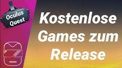 Oculus Quest - Kostenlose Games / Spiele zum Release (deutsch)