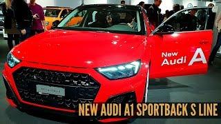 New Audi A1 Sportback S line 2018 Interior Review