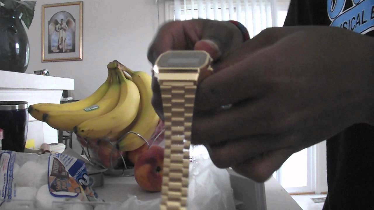 Gold Casio Watch Unboxing Review Youtube