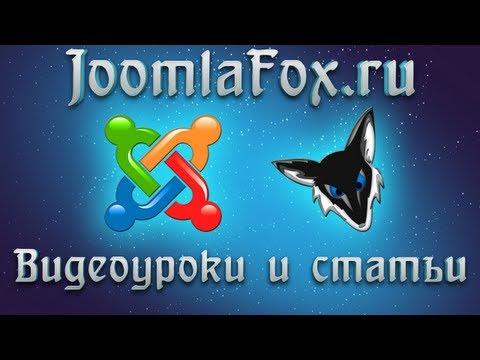 Joomla 3.1. Быстрый старт. Урок 9.  Позиции и модули