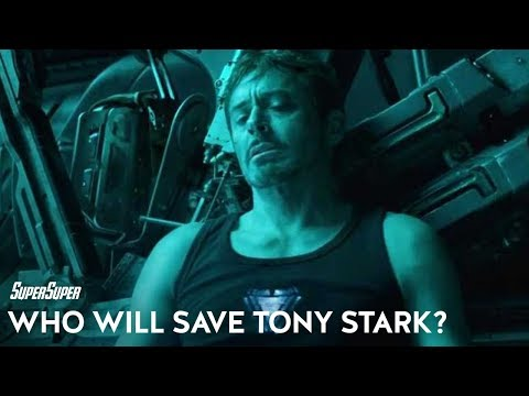 Who Will Save Tony Stark in Avengers: End Game? | SuperSuper