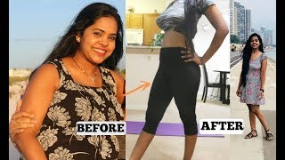How I lost 70 lbs (32kg)/My At Home Workout to Lose Weight/Indian Mother weightloss Update