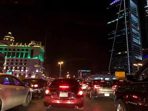 Colors of Tahlia street ,Riyadh   GoproHero5  