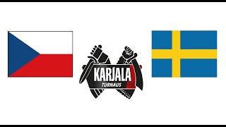 Чехия Швеция хоккей прямой эфир кубок Карьяла 2020 смотреть онлайн прямая трансляция 5 ноября
