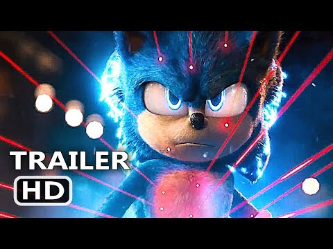 SONIC THE HEDGEHOG Official Trailer # 2 (2019) Jim Carrey Movie HD