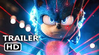 SONIC THE HEDGEHOG Official Trailer  2 2019 Jim Carrey Movie HD
