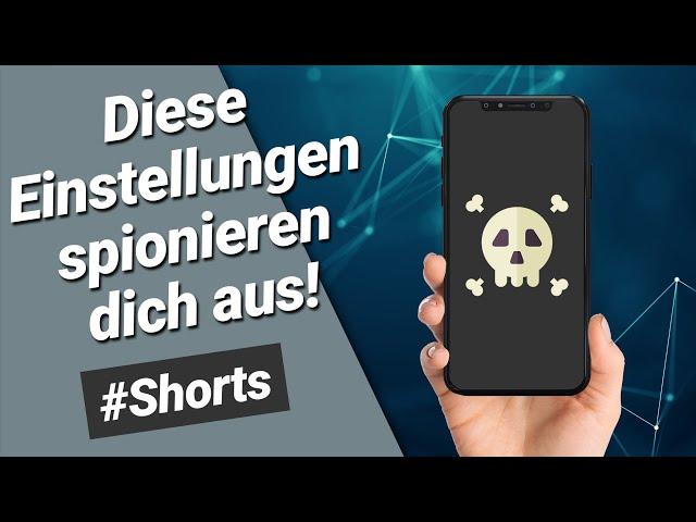 iPhone Einstellungen die man SOFORT ändern sollte! (iOS15) #shorts