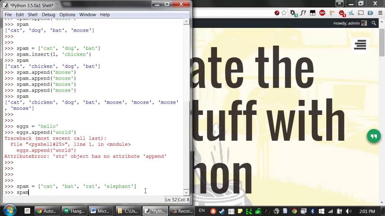Spam In Python