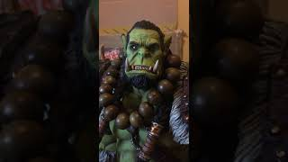 world of warcraft thrall statue