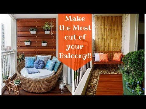 29 Creative Small Balcony Decorating Ideas- Plan n Design