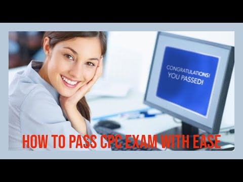 HOW TO PASS THE CPC EXAM GUARANTEE IN 2020 - PART 1