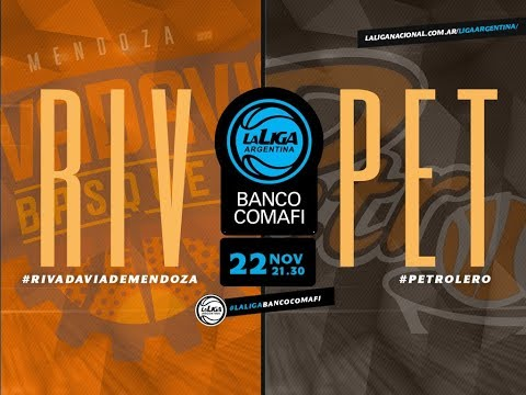 #LaLigaArgentinaBancoComafi | 22.11.2018 Rivadavia vs. Petrolero