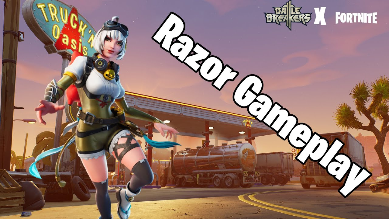 BATTLE BREAKERS RAZOR GAMEPLAY | Fortnite: Save The World