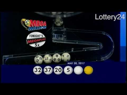 2017 05 30 Mega Millions Numbers and draw results