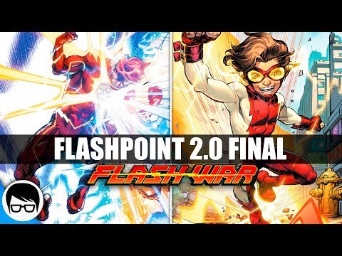 "FLASH WAR (FINAL) ""El regreso de Bart Allen"" (2018)  