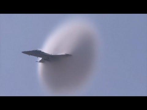2010 MCAS Miramar Air Show -  F-18 Super Hornet wrapped in a cloud