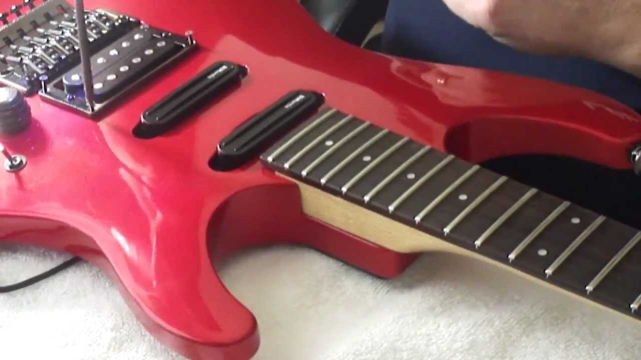 Ibanez 540s Pickup Change To Dimarzio Dp160 Dp181 Dp188