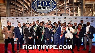 PBC ON FOX ERROL SPENCE VS. MIKEY GARCIA FULL PRESS CONFERENCE; THURMAN, PORTER, GARCIA & MORE