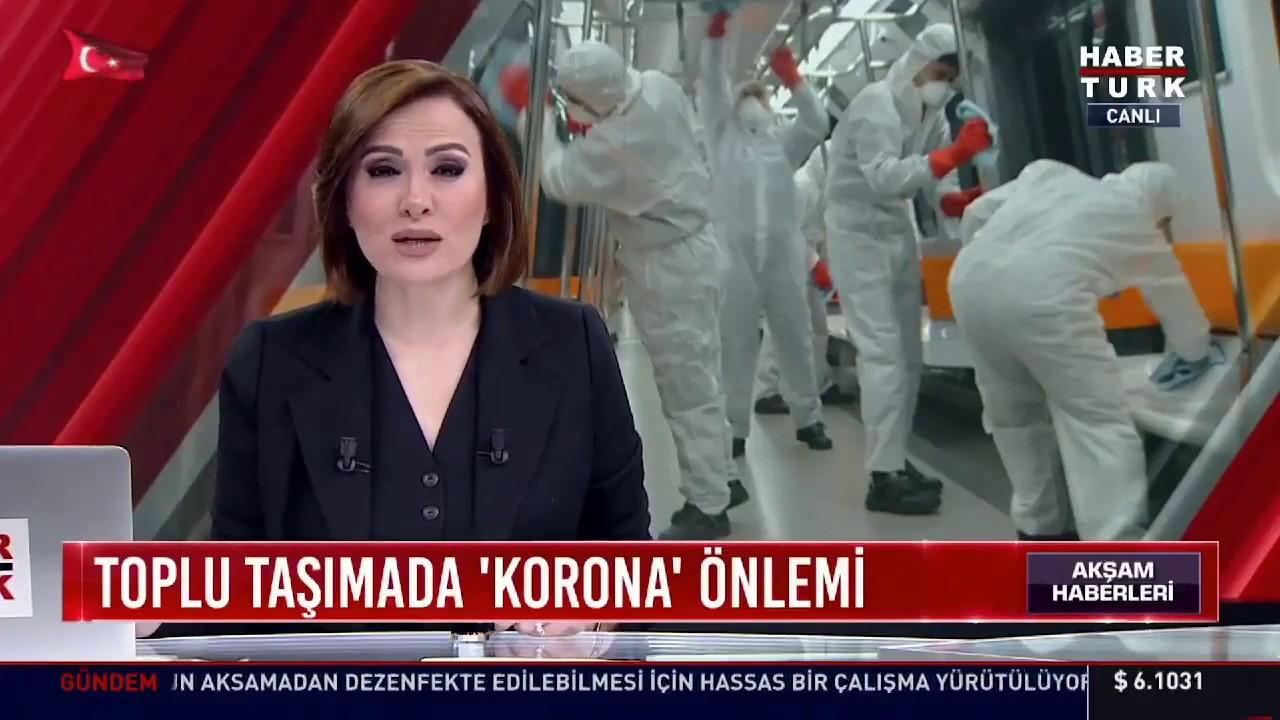 Haber Turk: Marmaray'da Koronavirüs Önlemi #TCDD #Marmaray #corona
