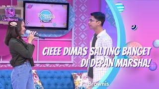 Download lagu CIEEE DIMAS SALTING BANGET DI DEPAN MARSHA!   BROWNIS (8/12/20) P1