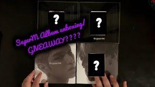 SuperM Album unboxing & GIVEAWAY?????
