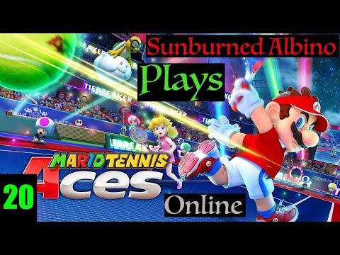 Sunburned Albino Plays Mario Tennis Aces Online EP 20