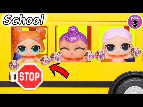L.O.L. Surprise! Dolls Series 3 Baby Babysit School House Lil Sisters Custom Vending Pets Unboxed!
