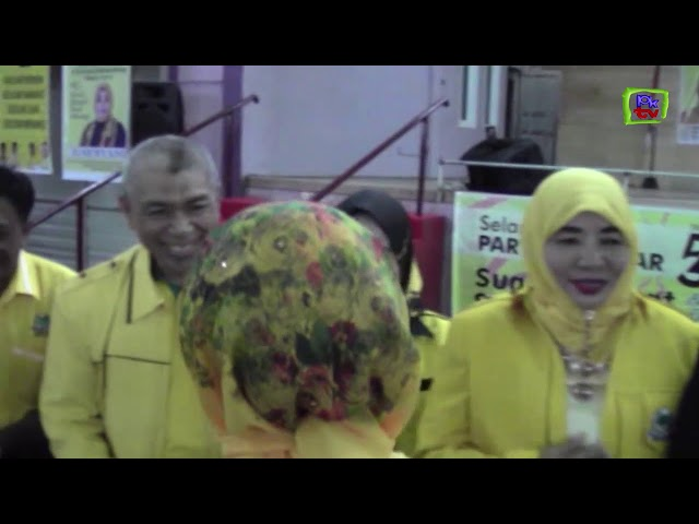 PKTV BONTANG | HUT KE 54 DPD GOLKAR BONTANG LANTIK BAPPILU KOTA BONTANG