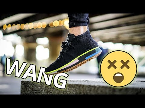 buy online 2c7f3 138f0 Alexander Wang x adidas Run  Skate Mid  Review  On Foot