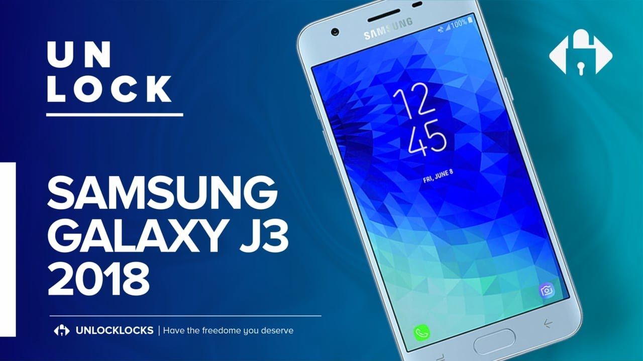 How To Unlock SAMSUNG Galaxy J3 (2018) by Unlock Code