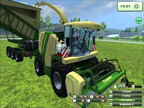 ensilage d'herbe sur Farming Simulator 2013