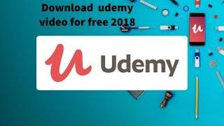 descargar cursos y videos de udemy offline   '