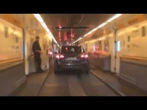Dover Calais Tunnel >> Crossing the channel tunnel from Calais to Folkestone - YouTube