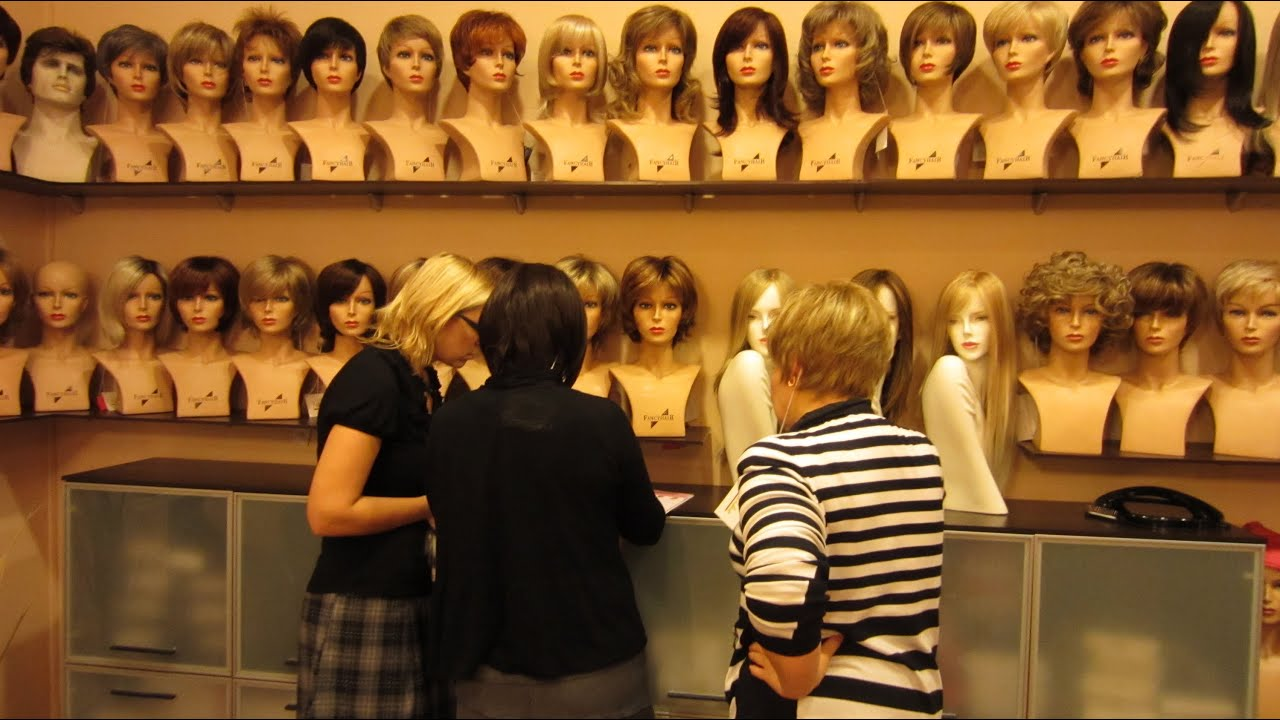 Image result for wig shop