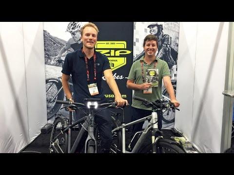 2017 IZIP Electric Bike Updates from Interbike (Peak Plus, Peak DS, E3 Sumo, Protour, COBI)