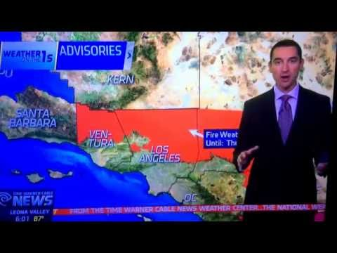 Time Warner Cable News (Antelope Valley) All Night at 6pm open August 17, 2016