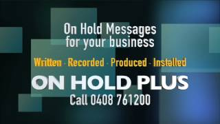 on hold messaging for business   on hold plus